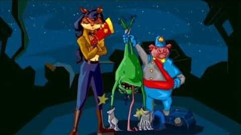 Sly_Cooper_and_the_Thievius_Raccoonus_-_Tide_of_Terror_-_Raleigh_Hung_out_to_Dry