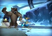 Aggravated bear
