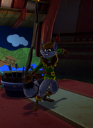 Sly Cooper in the Archer Costume