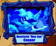 Henriette one eye Cooper