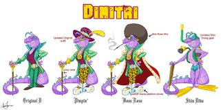 Dimitri bocetos