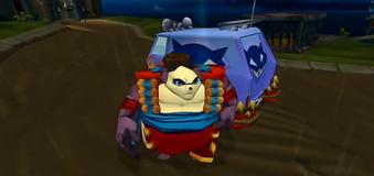 Rey Panda furgoneta