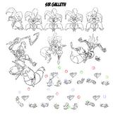 Galleth bocetos