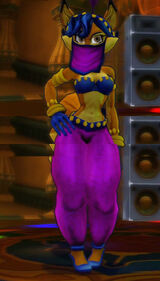 Carmelita belly dancer