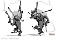 Toothpick bocetos