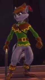 Sly arquero pose 7