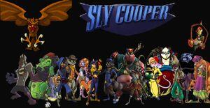 Varios personajes de la saga.