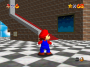 The Second Floor from Super Mario 64.
