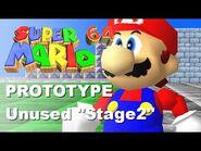 UNUSED SM64 Prototype Level, Stage2!