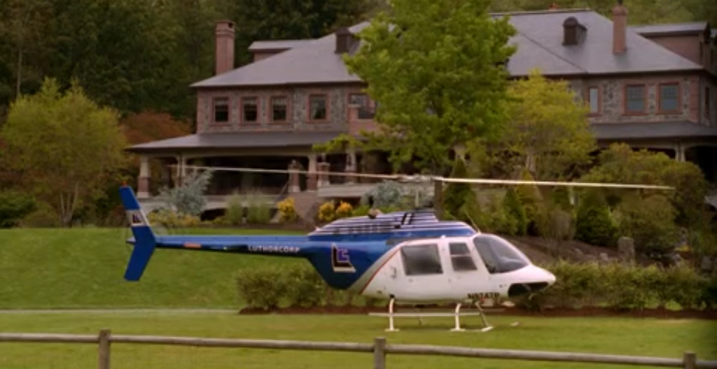 LuthorCorp helicopters