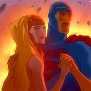 Superman Krypton Jor-el DCAU ASS Els-allstar