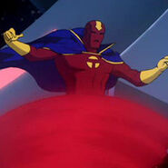 Red Tornado Crisis on Two Earths