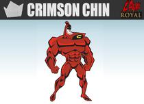 CRIMSON CHIN THE GREATST SUPERHERO