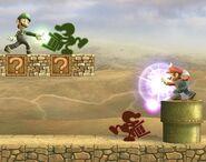 Mr. Game & Watch attaques Brawl 4