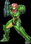 Art Samus vert Ultimate