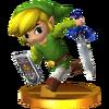 Trophée Link Cartoon 3DS.png