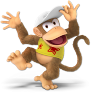 Art Diddy Kong jaune Ultimate