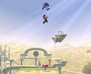 Sonic attaques Brawl 7