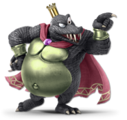 Art King K. Rool noir Ultimate