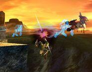 Falco attaques Brawl 3