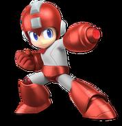 Art Mega Man rouge Ultimate