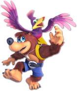 Art Banjo & Kazooie rouge Ultimate