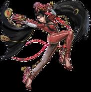 Art Bayonetta rouge Ultimate