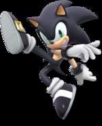 Art Sonic noir Ultimate