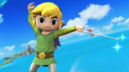 Link Cartoon SSB4 Profil 2