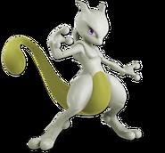 Art Mewtwo jaune Ultimate