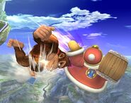 Donkey Kong attaques Brawl 3