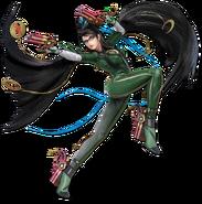 Art Bayonetta vert Ultimate