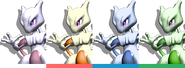 Couleurs Mewtwo Melee