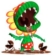 Flora Piranha SMS