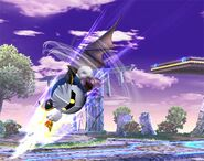 Meta Knight attaques Brawl 4
