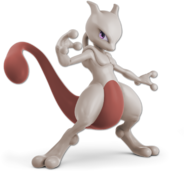 Art Mewtwo rouge Ultimate