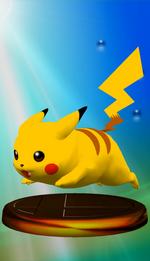 Trophée Pikachu SSBM Rose.png
