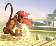 Diddy Kong Smash final Brawl 5