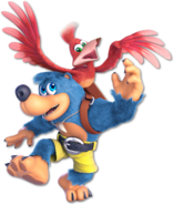 Art Banjo & Kazooie bleu Ultimate