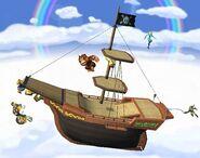 Vaisseau pirate Brawl 7