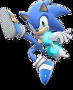 Art Sonic bleu Ultimate