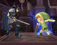 Link Cartoon Smash final Brawl 2