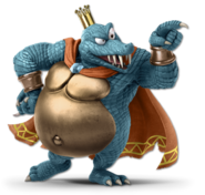 Art King K. Rool bleu Ultimate