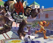 Bowser Smash final Brawl 3