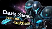 Splash art Dark Samus Ultimate