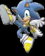 Art Sonic jaune Ultimate