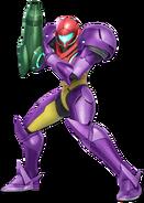 Art Samus violet Ultimate