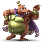 Art King K. Rool rouge Ultimate