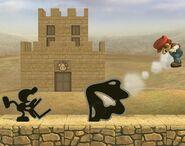 Mr. Game & Watch attaques Brawl 3