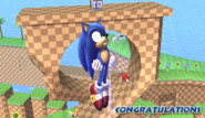 Félicitations Sonic Brawl All-Star